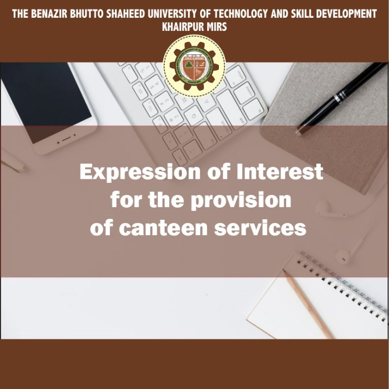 Expression of Interest for Canteen Services