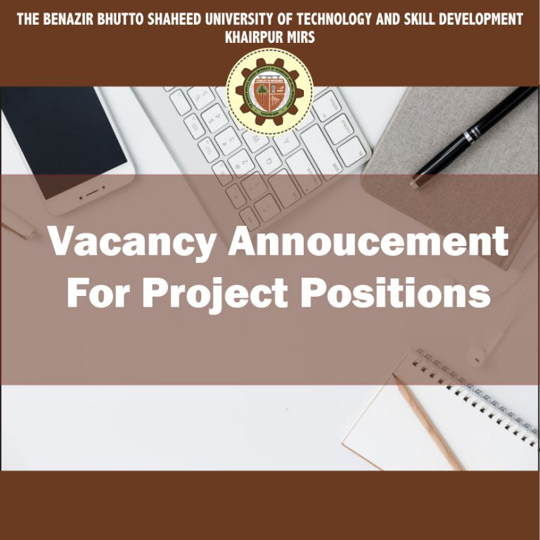 Vacancy Announcement For Project Positions